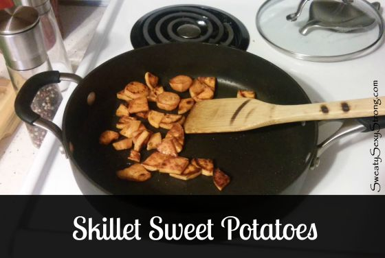 skillet sweet potatoes